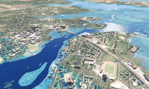 Pudasjärven tulvasuunnittelu