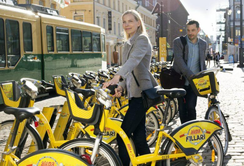 Kaupunkipyöräilystä on tullut tiivis osa suomalaista urbaania kaupunkielämää.