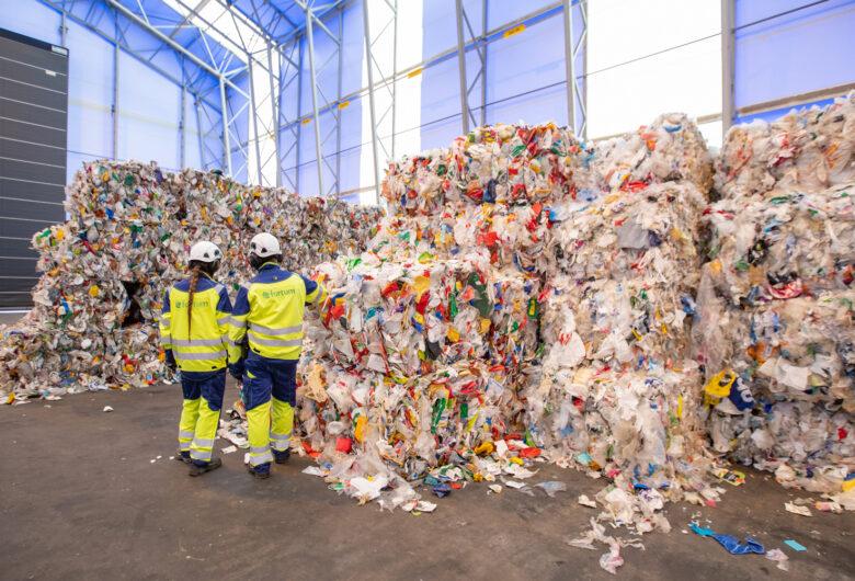 Muovijalostamon laajennus kolminkertaisti muovin kierrätyskapasiteetin Suomessa