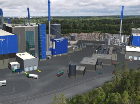 Vantaan Energian jätteenkäsittelylaitos